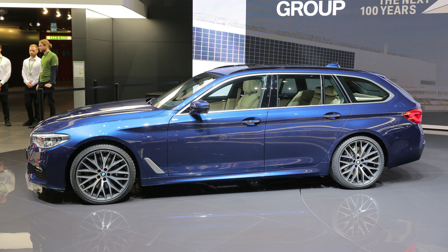 2017 BMW 5 Series Touring is the sexy wagon America will never get