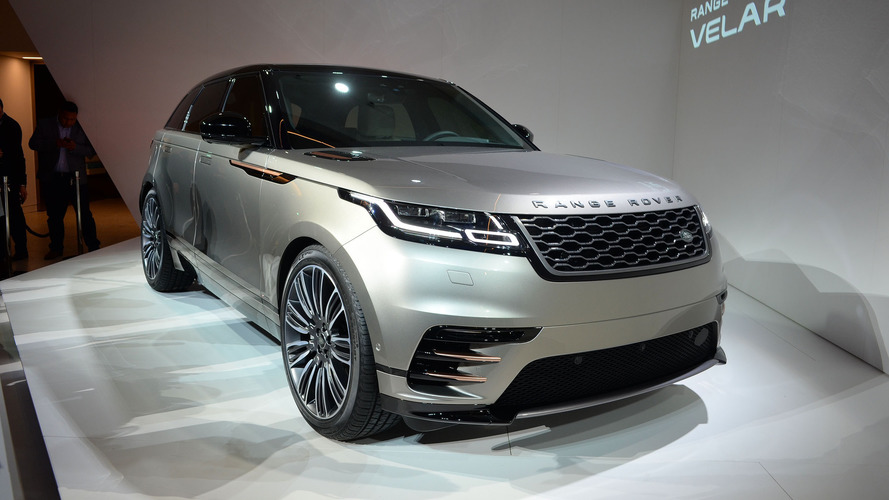 Range Rover Velar arrives this summer for £44,830