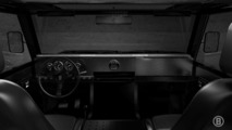 Bollinger electric truck interior