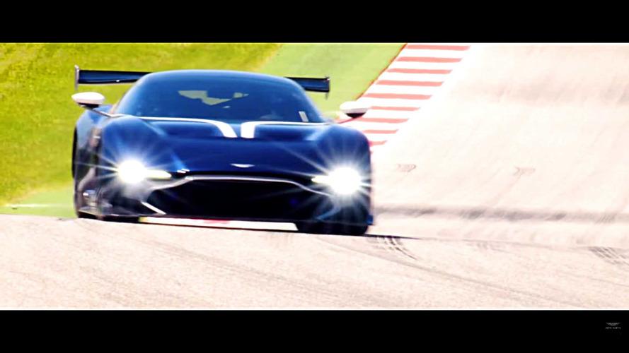 Aston Martin Vulcan at COTA