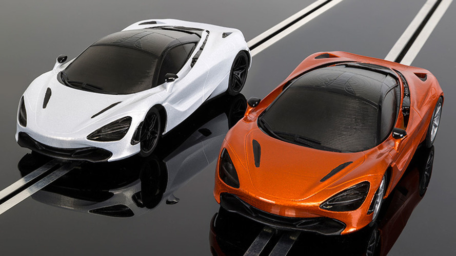 McLaren 720S Scalextric racer already available