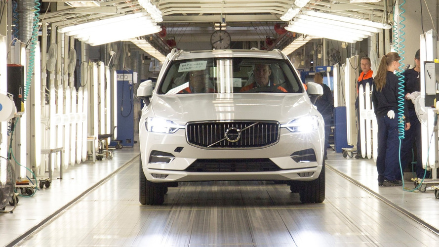 Volvo Kicks Off Production for its Newest Crossover