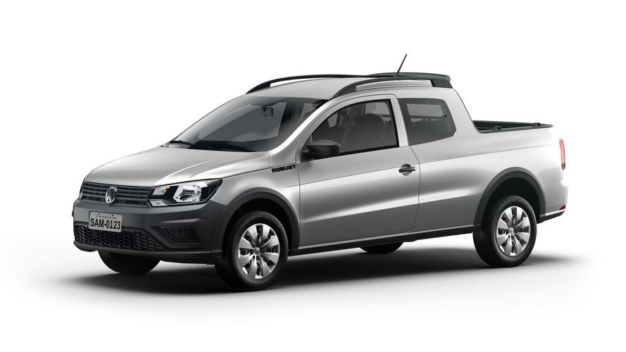 VW Saveiro chega à linha 2018 com inédita versão Robust cabine dupla; veja preços
