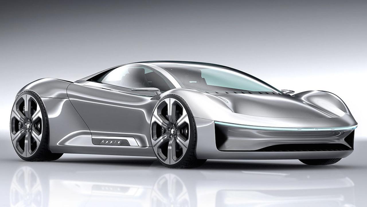 apple eve sports car concept is stunning will never happen. Black Bedroom Furniture Sets. Home Design Ideas