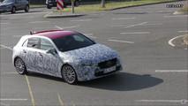 2018 Mercedes A-Class screenshot from spy video
