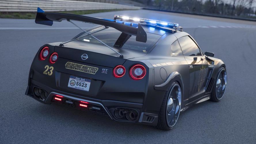 Une Nissan GT-R pour la police de New-York