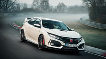 Honda Civic Type R record sur le Nürburgring