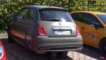 Acayip bir tekerlek düzenine sahip Fiat 500