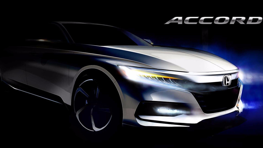 2018 Honda Accord Teased In New Sketch, Reveal Set For July 14