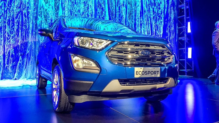 Novo Ford EcoSport terá pré-venda iniciada no final de julho