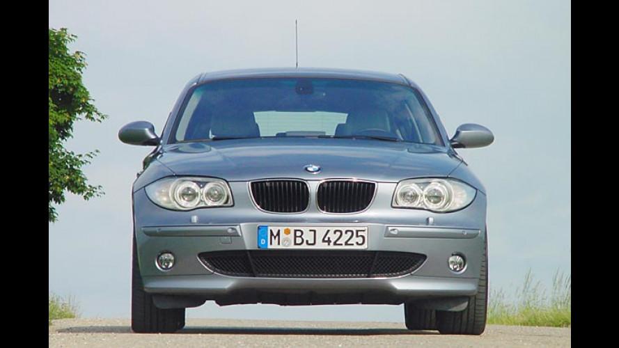 BMW 1er: Mittlerer Benziner 118i kommt im Dezember 2004