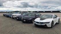 Elektrikli BMW yelpazesi