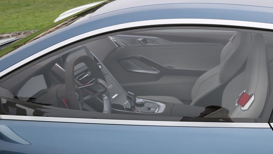 BMW 8 Series Interior Photographed Camo-Free