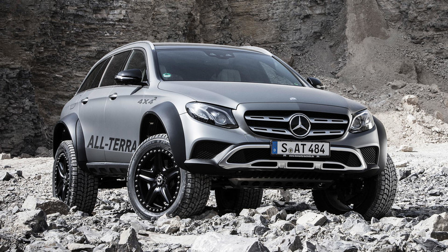 La Mercedes All-Terrain 4x4² pourrait aller en production !