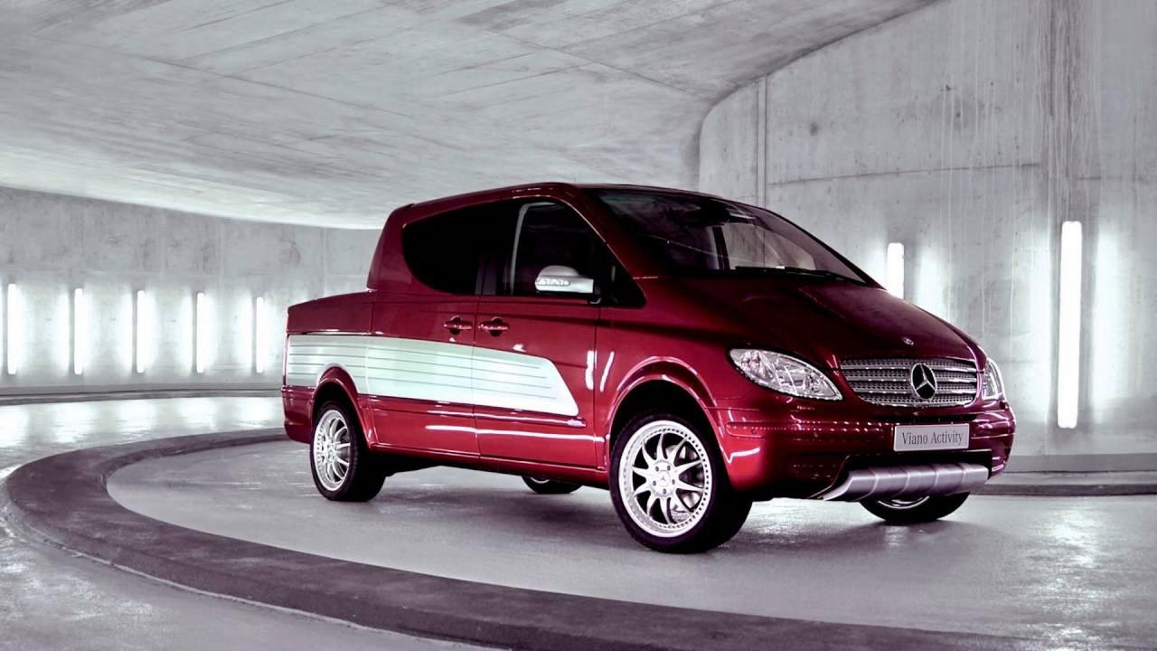 2004 Mercedes Viano Activity concept