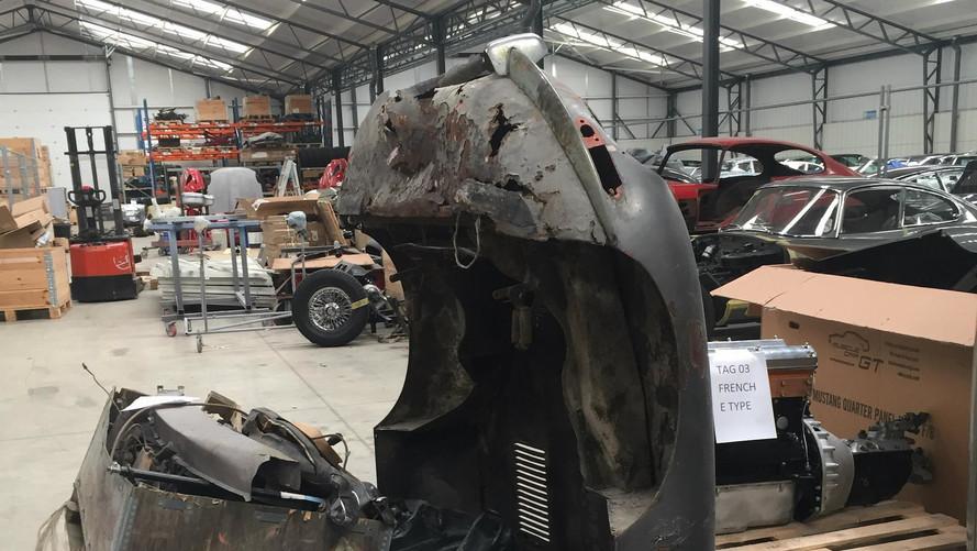 L'une des premières Jaguar Type E retrouvée et bientôt restaurée