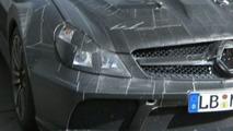 Mercedes SL 65 AMG Black Series Spied Up Close