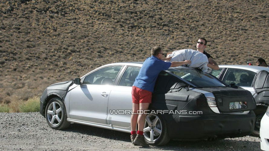 Next Generation 2011 VW Jetta Prototype Spied in American Southwest