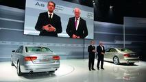 World premiere of the new 2011 Audi A8 in Miami, 01.12.2009