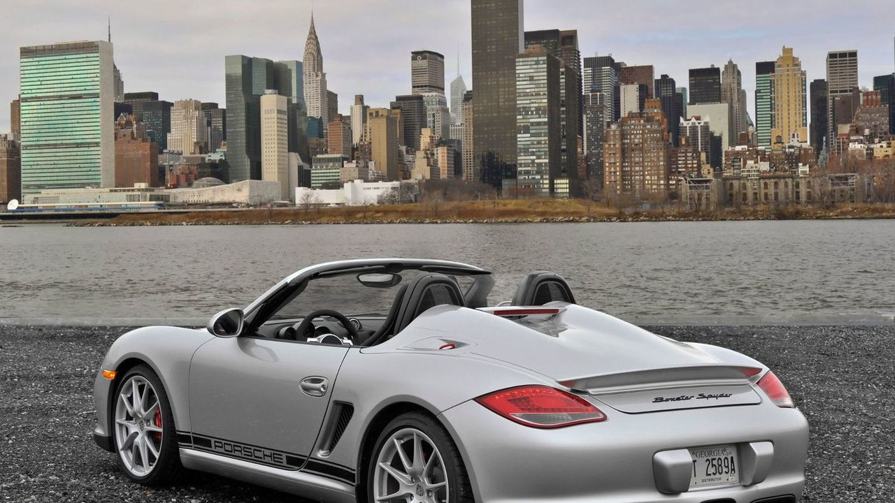 2011 Porsche Boxster Spyder, New York City Skyline - 1600 - 26.03.2010