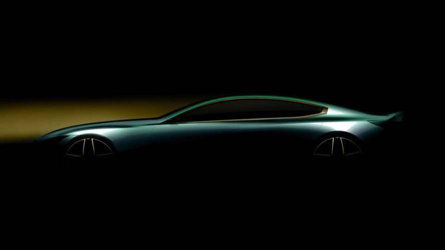 La BMW Série 8 Gran Coupé montre sa silhouette