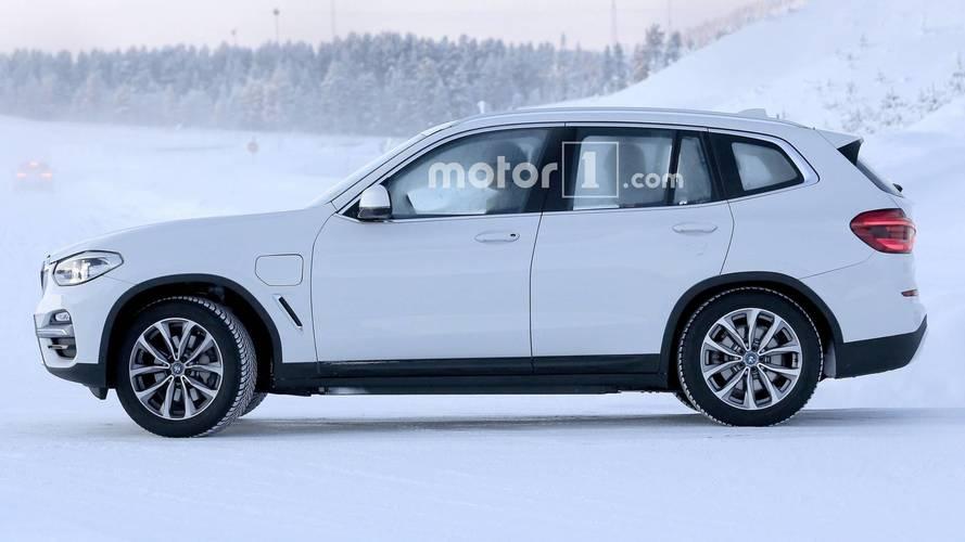 Les BMW X3 électrique et hybride rechargeable surpris pour la première fois