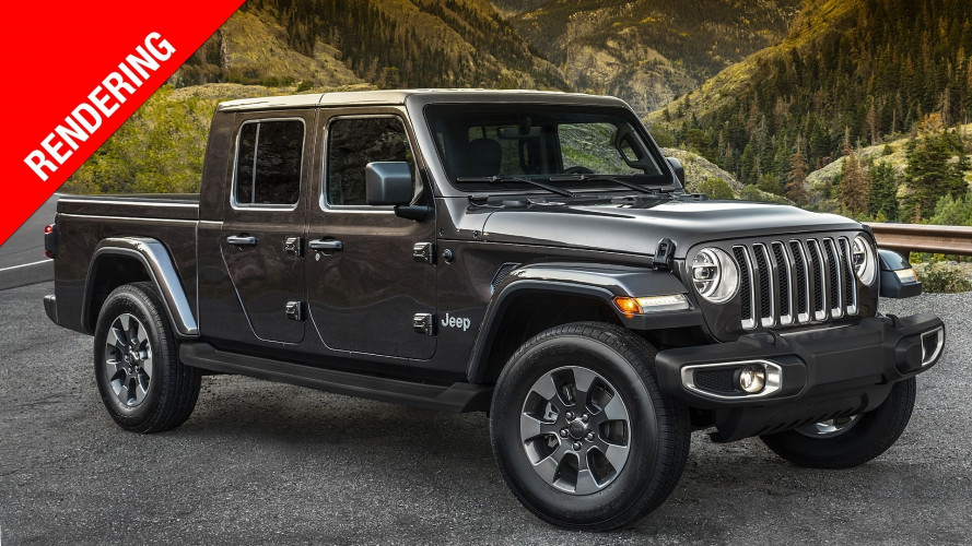 Jeep Wrangler pick up, in fuoristrada con il cassone