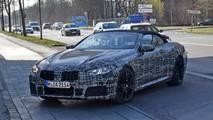 2019 BMW M8 Convertible Spy Photo