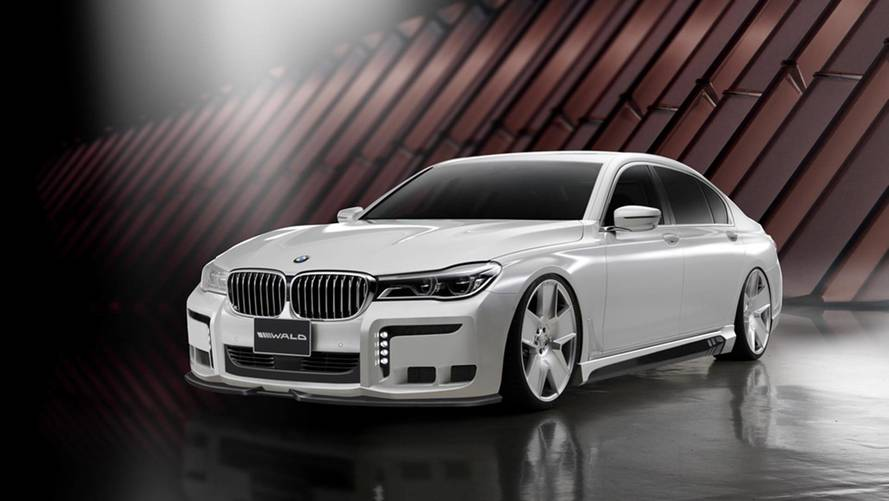 Tuning - La BMW Série 7 Black Bison signée Wald International