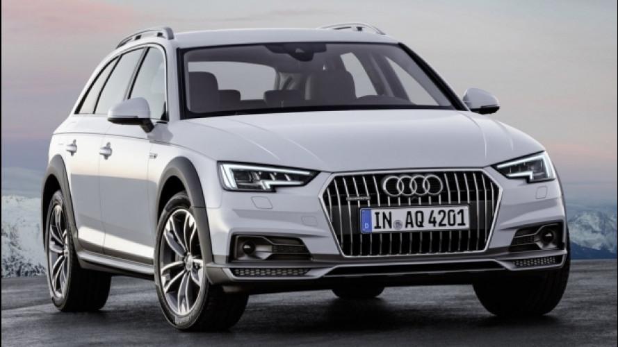 Audi A4 allroad, ora anche con il 2.0 TDI da 163 CV