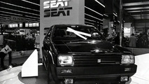 SEAT Ibiza in the Paris Motor Show 1984