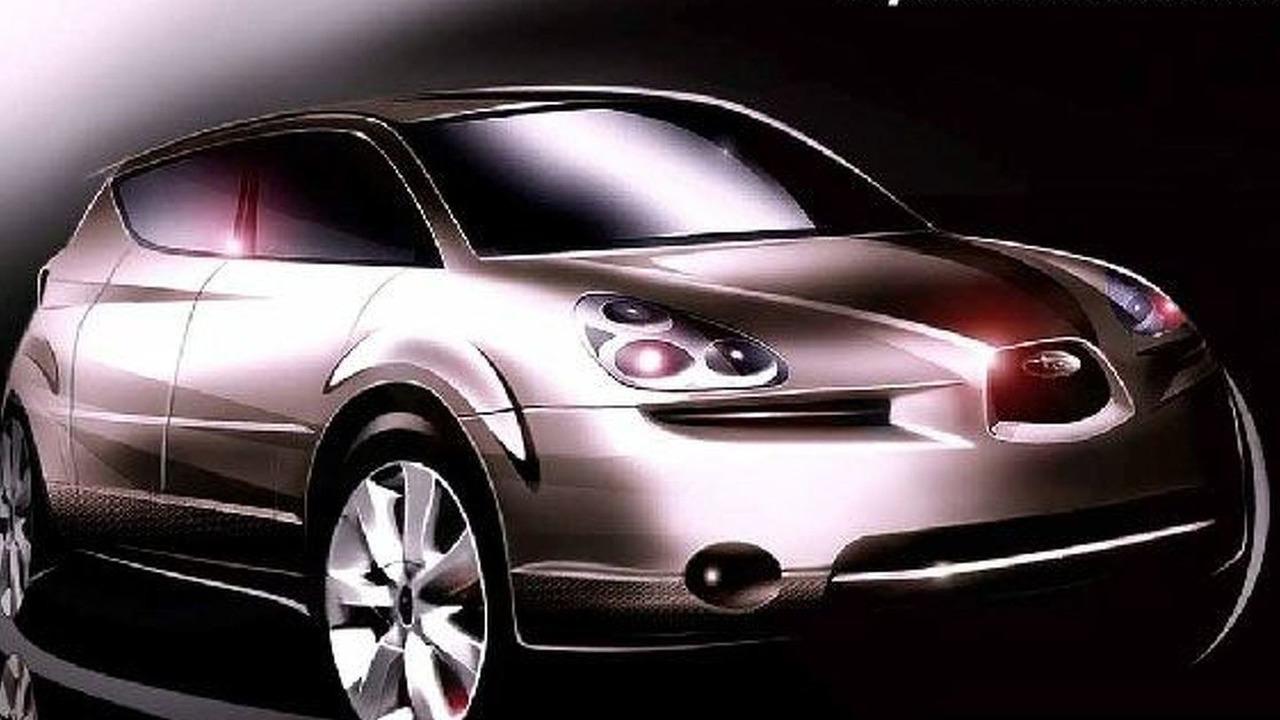 Subaru B9 Tribeca concept