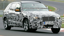 BMW X1 spied