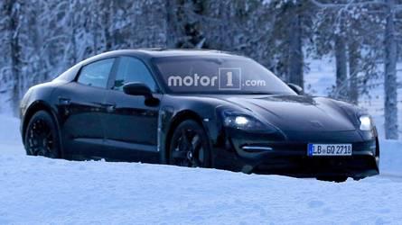 La Porsche Mission E se laisse filmer