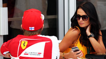 Kimi Raikkonen (FIN) with his girlfriend Minttu Virtanen (FIN) / XPB