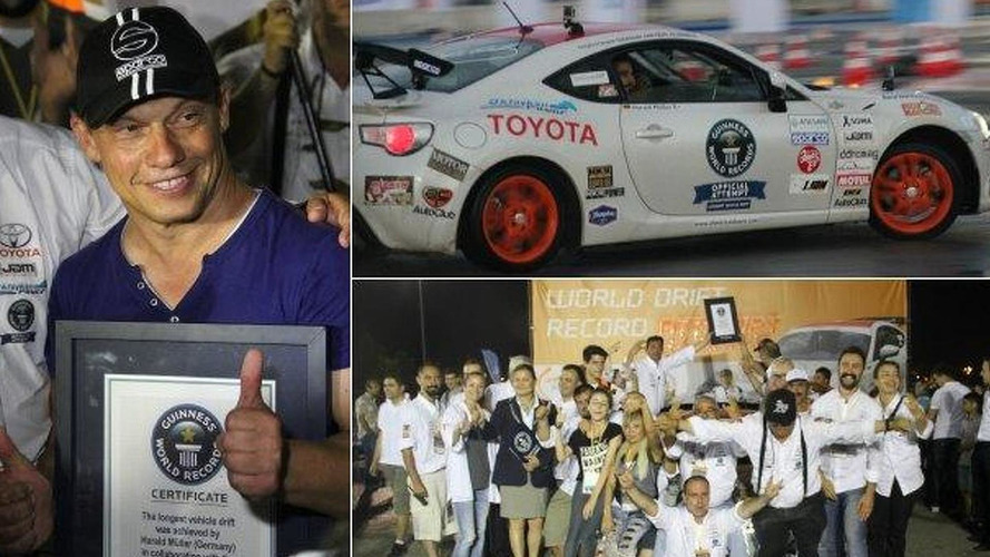 Guinness says this Toyota GT86 broke the longest drift record, we disagree [video]