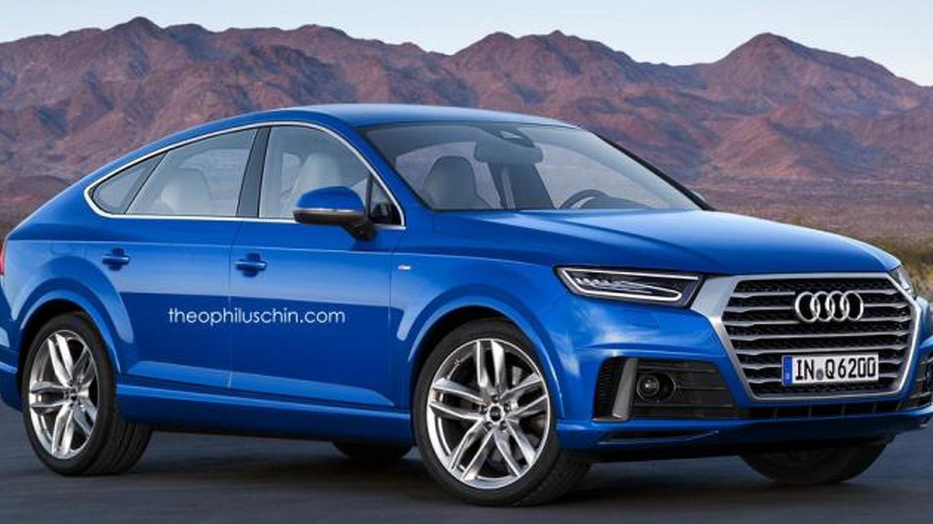 Рендер Audi Q6 неофициально от theophiluschin.com