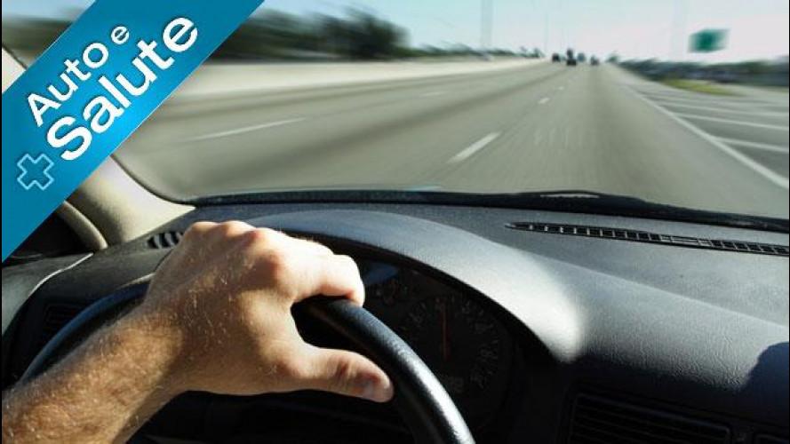 Auto: c'è il rischio di vertigine alla guida