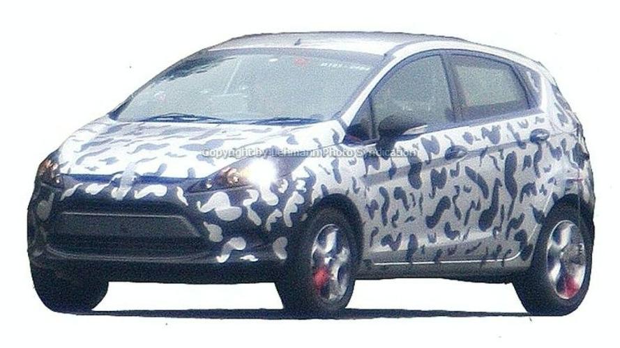 Ford Fiesta Caught Undisguised