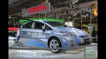 Toyota mostra o Prius Plug-in Hybrid no Salão do Automóvel de São Paulo