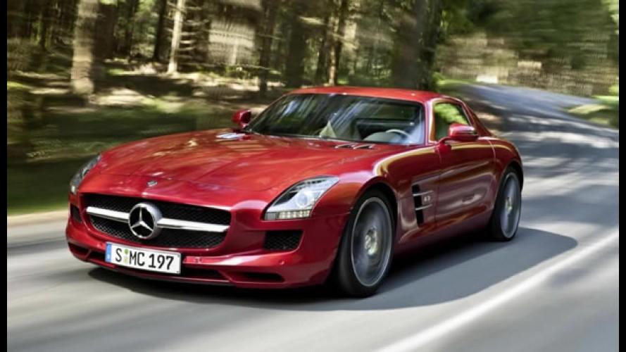 Mercedes-Benz planeja versão menor do SLS para rivalizar com Porsche 911