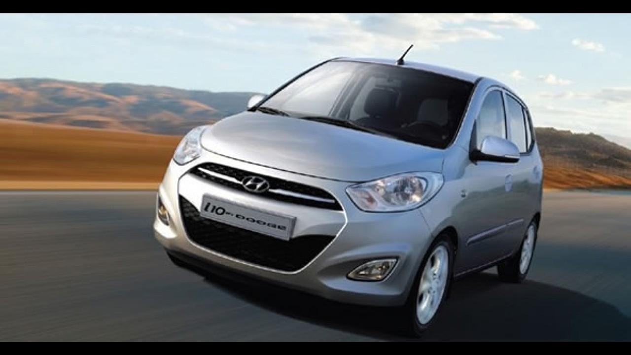 Dodge apresenta no México o novo Hyundai i10