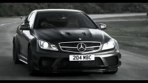 Vídeo: O lado negro do Mercedes C63 AMG Black Series