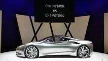 Infiniti Emerg-E concept live in Geneva 06.03.2012