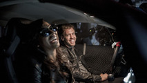 Sebastian Vettel & Melanie Fiona in Watch me work music video 30.8.2012