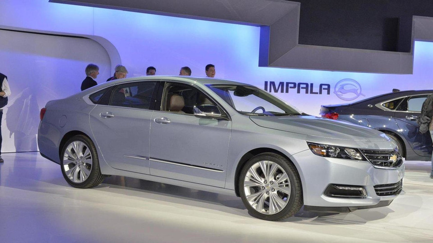 2014 Chevrolet Impala officially revealed for New York