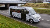 Mercedes-Benz minibus camouflaged prototypes