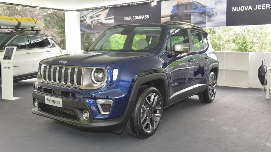 Jeep Renegade 2019 en el salón de Turín 2018