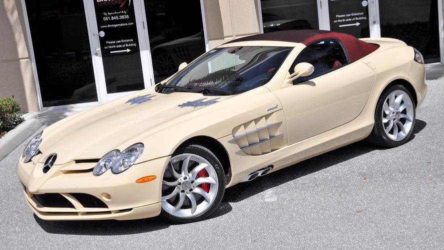 Bu renkte bir Mercedes SLR'ı ilk kez görüyor olabilirsiniz