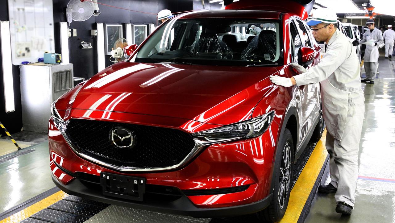 2017 Mazda CX-5 üretimi